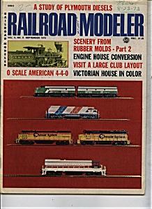 Railroad Modeler Magazine - September 1973 (Image1)