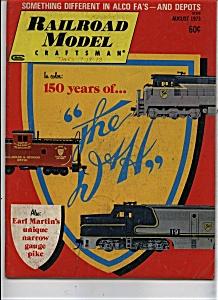 Railroad Model Craftsman magazine - August 1973 (Image1)