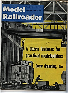 Model Railroader Magazine - October 1962 (Image1)
