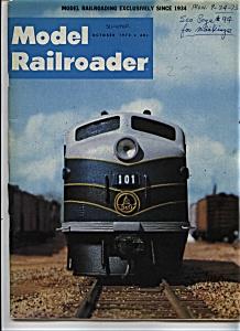 Model Railroader magazine - October 1973 (Image1)