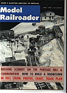 Model Railroader Magazine - May 1962 (Image1)