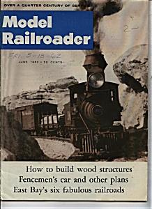 Model Railroader magazine - June 1962 (Image1)