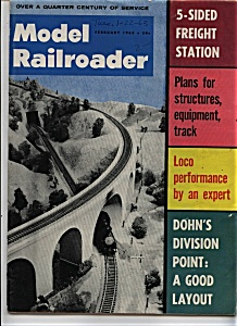Model Railroader magazine - February 1963 (Image1)