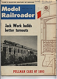 Model Railroader magazine - April 1963 (Image1)