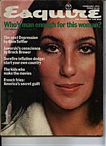 Esquire  Magazine- February 1975 (Image1)