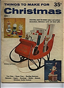 Things to Make for Christmas - Copyright 1960 (Image1)