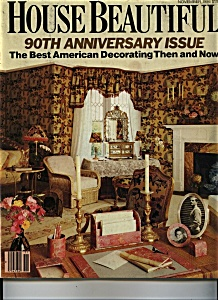 House Beautiful magazine - October 1987 (Image1)