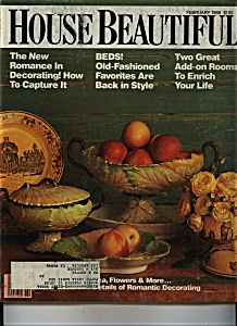 House Beautiful Magazine - February 1988