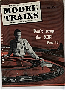 Model Trains Magazine-  Fall 1961 (Image1)