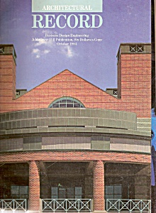 Architectural Record (McGraw- Hill) -  October 1984 (Image1)