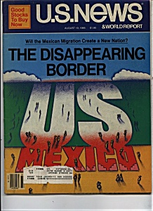 U. S. News & World report - August 19, 1985 (Image1)