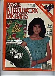 Mccall's Needlework & Crafts May/june 1982