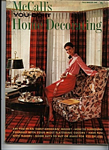 Mccall's You Do It Home Decorating - Fall/winter 68
