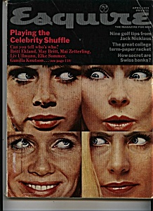Esquire Magazine - April 1973 (Image1)