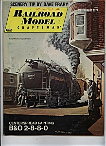 Railroad Model Craftsman Magazine - August 1974
