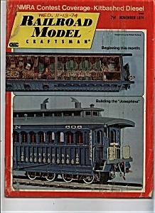 Railroad Model Craftsman Magazine - November 1974 (Image1)