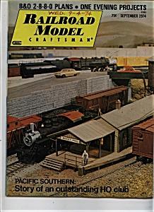 Railroad Model Craftsman Magazine- September 1974 (Image1)