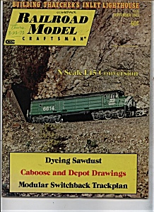 Railroad Model Craftsman MagazineSeptember 1973 (Image1)