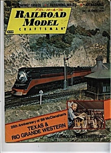 Railroad Model Craftsman - October 1974