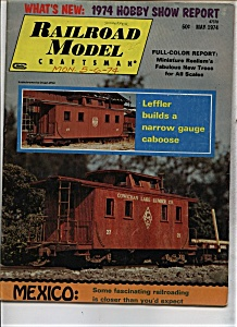 Railroad Model Craftsman Magazine - May 1974