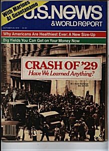U.S. News &  World Report Magazine - October 29, 1979 (Image1)