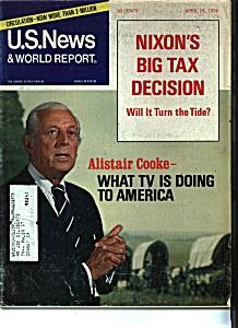 U. S. News & World report magazine - April 15, 1974 (Image1)