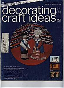 Decorating & craft ideas magazine- February 1975 (Image1)