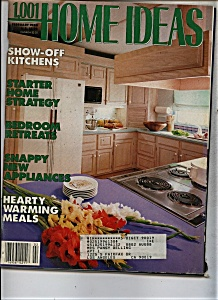 1001 Home Ideas magazine- February 1988 (Image1)