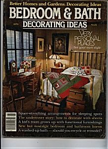 Bedroom & Bath decorating Ideas - 1979 (Image1)