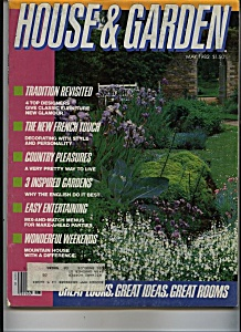 House & Garden magazine - May 1982 (Image1)