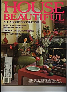 House Beautiful  - October 1981 (Image1)
