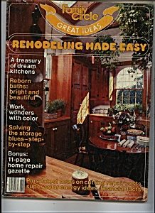 Family Circle =-Remodeling made easy - Copyright 1981 (Image1)