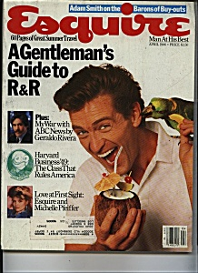 Esquire Magazine - April 1986 (Image1)