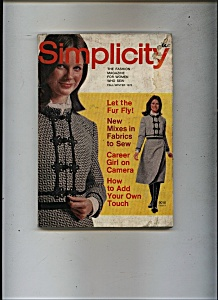 Simplicity magazine -  Fall/Winter 1970 (Image1)