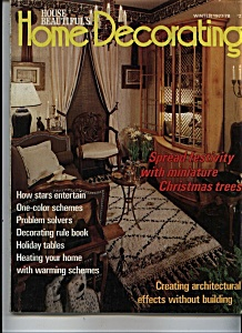 House Beautiful's Home Decorating Winter 1977-78