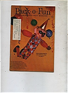 Pack - O- Fun magazine - January 1972 (Image1)