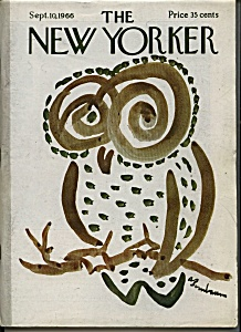 The New Yorker magazine - Sept. 10, 1966 (Image1)