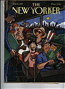 The New Yorker Magazine - July 21, 1997