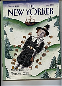 The New Yorker Magazine- Nov. 28,  1994 (Image1)