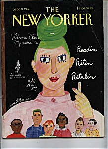 The New Yorker Magazine - Sept. 9, 1996 (Image1)