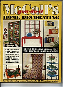 McCall's home decorating - Spring 1972 (Image1)
