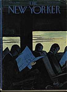 The New Yorker Magazine - Nov. 4, 1961 (Image1)