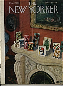 The New Yorker  Magazine -  Dec. 7, 1960 (Image1)