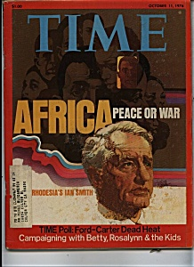 Time Magazine - October 11, 1976 (Image1)