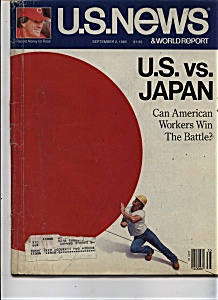 U. S. News & world report magazine -  Sept. 2, 1985 (Image1)