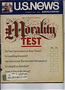 U. S. News & world report magazine - Dec. 9, 1985 (Image1)