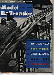 Model Railroader magazine- January 1963 (Image1)