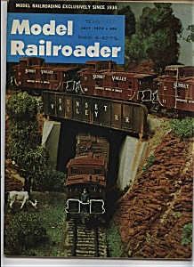 Model Railroader magazine - July 1973 (Image1)