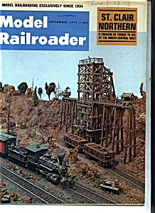 Model Railroader  Magazine -  September 1973 (Image1)