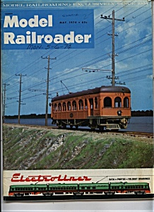 Model Railroader magazine ,- May 1974 (Image1)